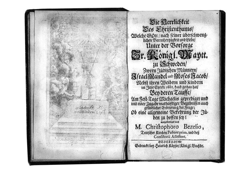 Bild av försättsblad. Bezelius, C., Die Herrlichkeit des Christenthums.