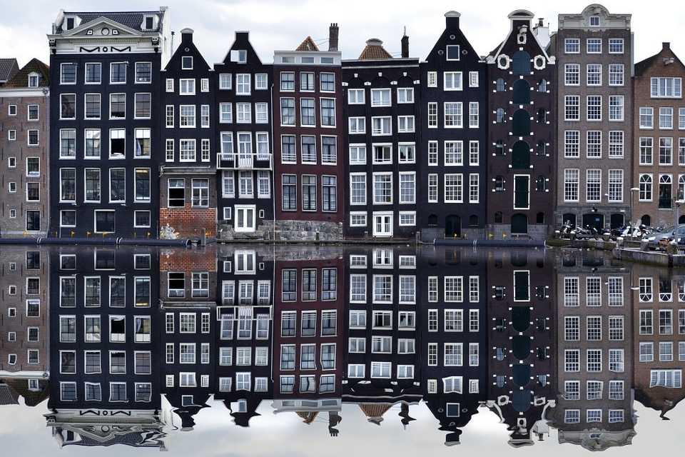 På besök i Amsterdams judiska kvarter