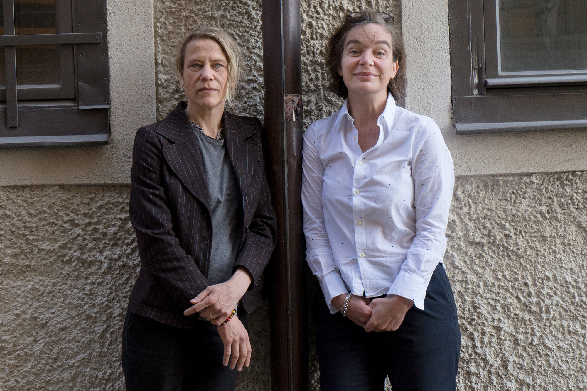Åsa Andersson Broms och Christina Gamstorp. Foto: Daniela Auerbach
