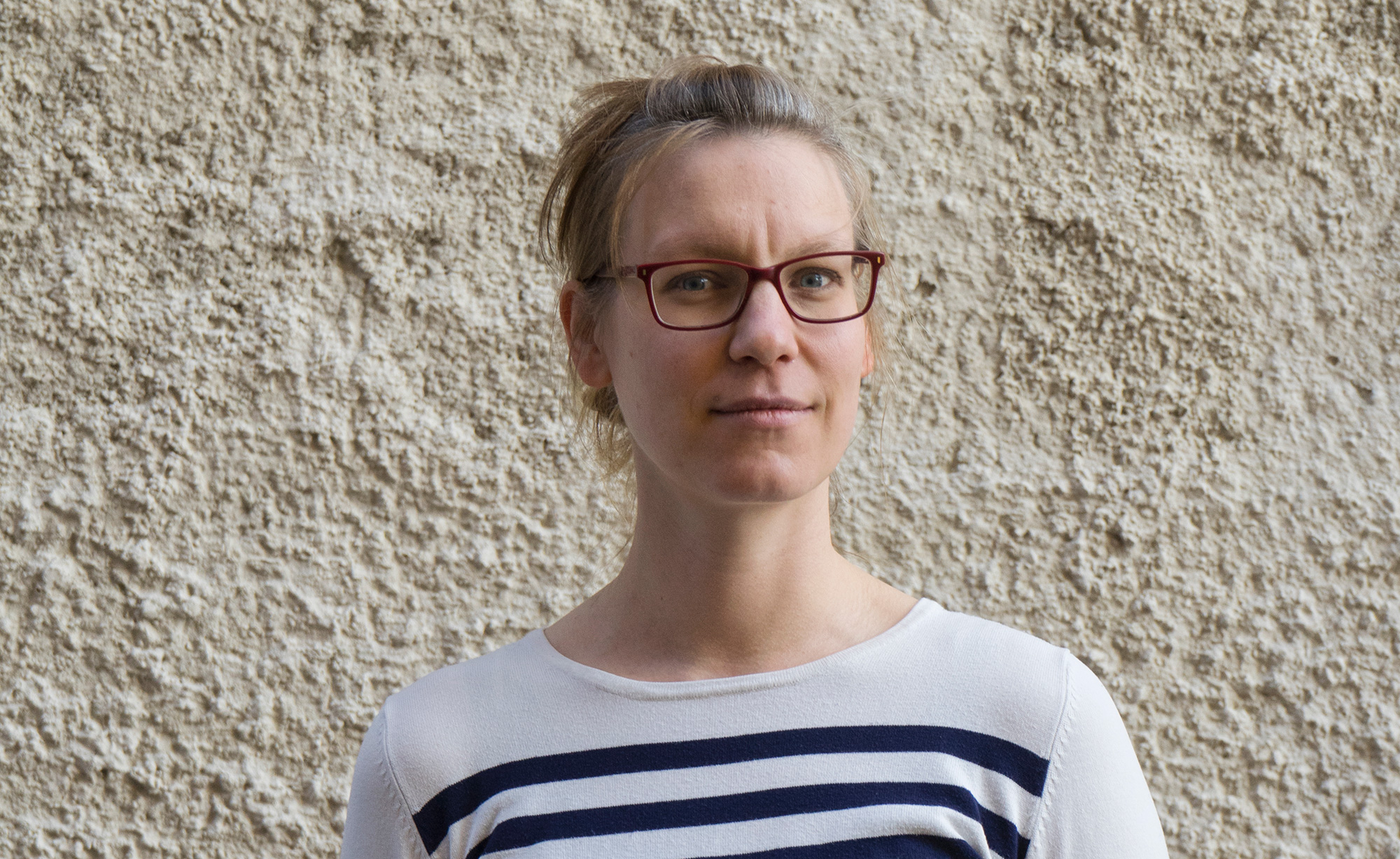 Elin Hinnemo, forskare på Judiska museet. Foto: Daniela Auerbach