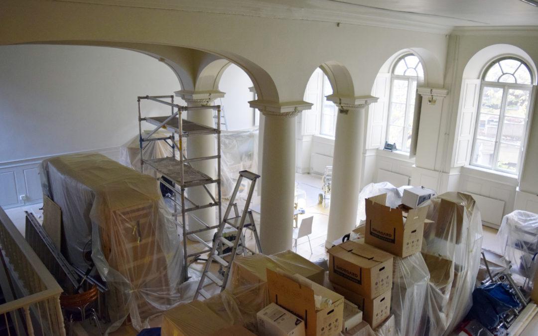En synagoga i ny skrud