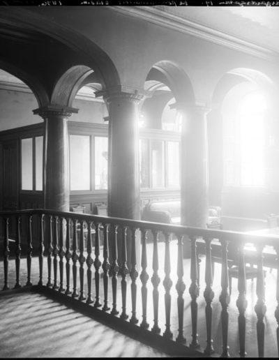 Interiör från Nikolai polisstation, Själagårdsgatan 19, 1896. Stockholmskällan: Fotonummer Fa 48194 ; Fotonummer C 1646