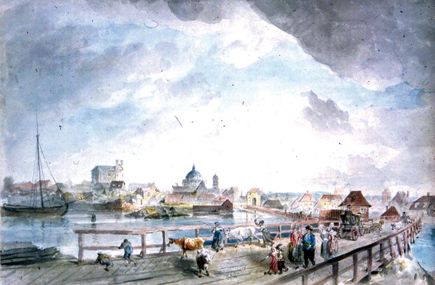 Målning av Elias Martin år 1780
