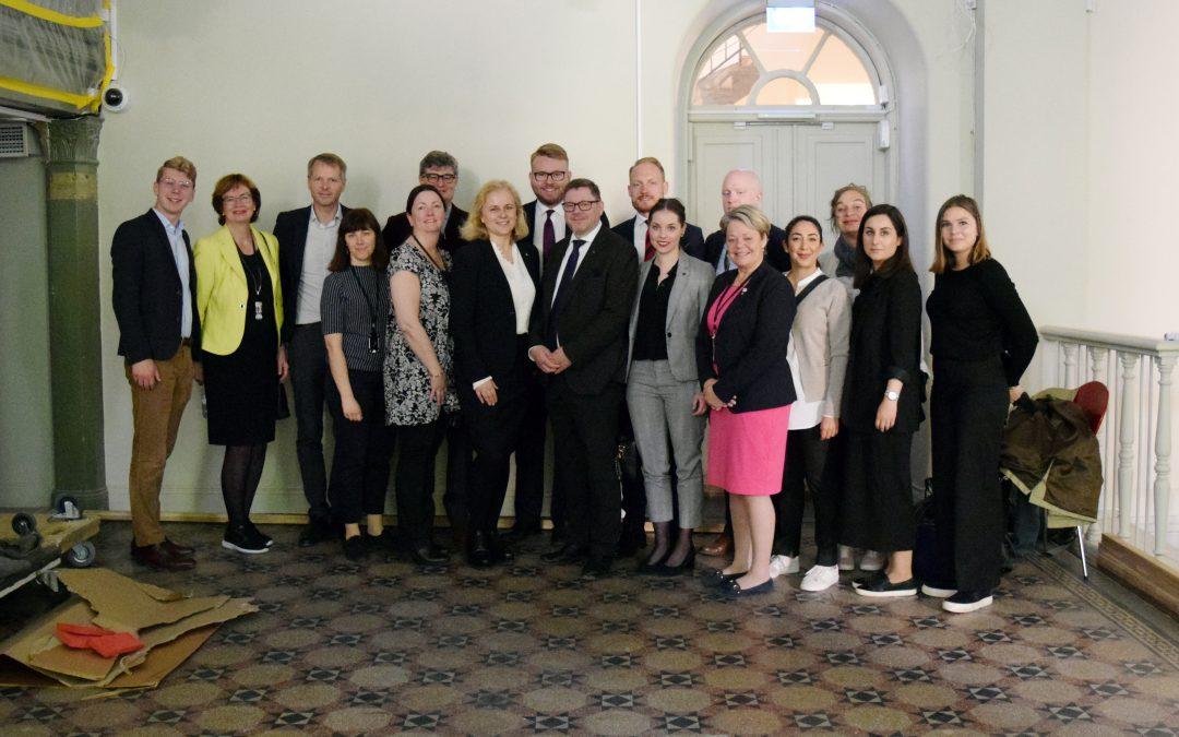 Kulturutskottet på besök