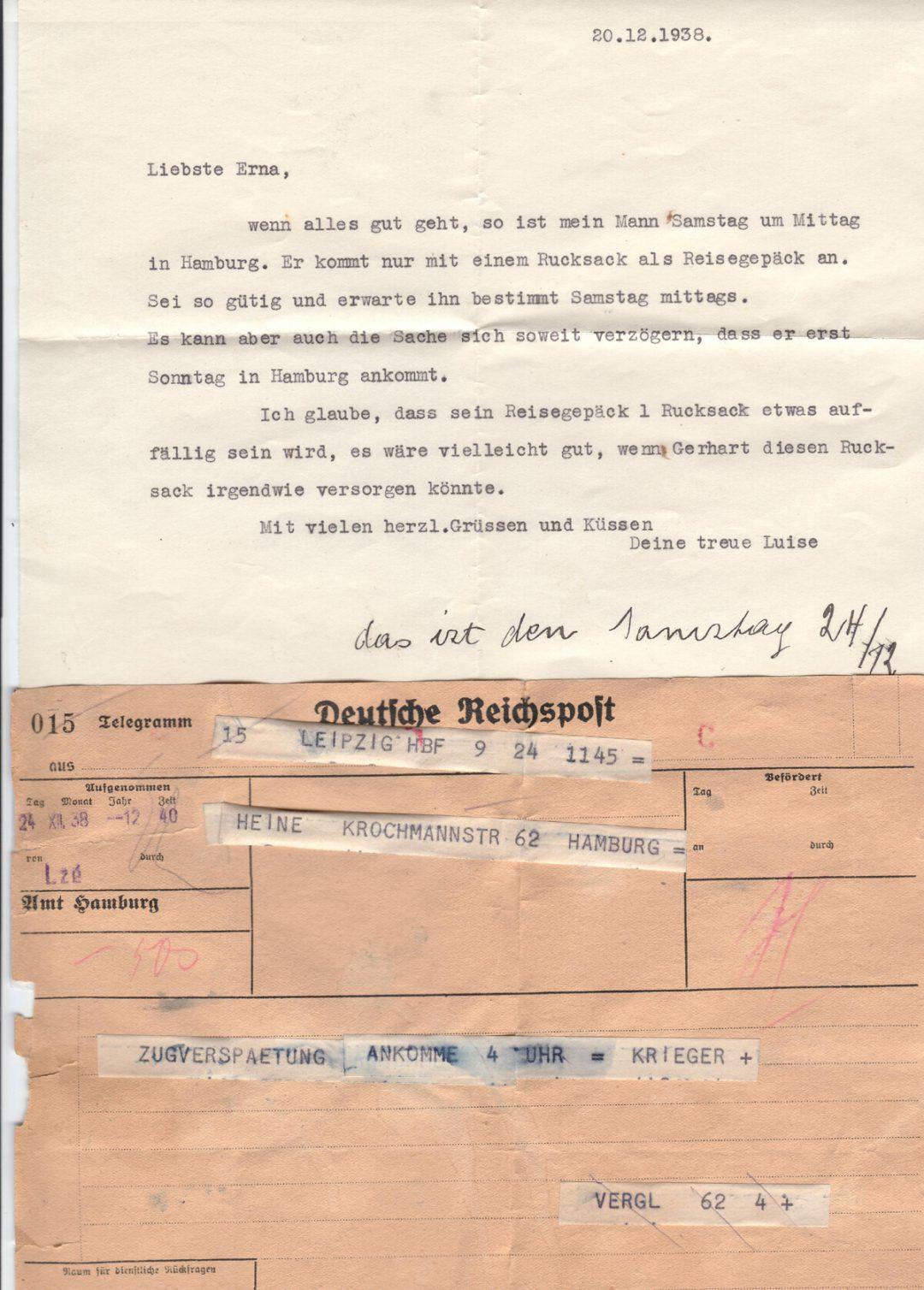 Familien som smugglades till Sverige under andra världskriget