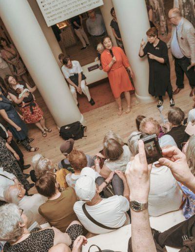 Från öppningen den 6 juni. Foto: Jason Andersson / Studio Emma Svensson